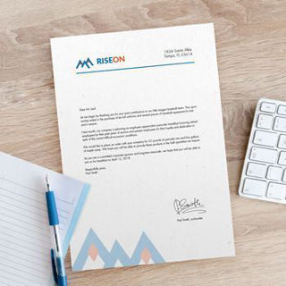 Picture of 8.5x11 Letterhead